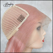 hottest synthetic wigs with swiss lace and heat resistant hair fibers