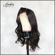 """body wave human hair wig, 100% unprocessed human hair Lace part wig 360 deep part swiss lace wigs"""