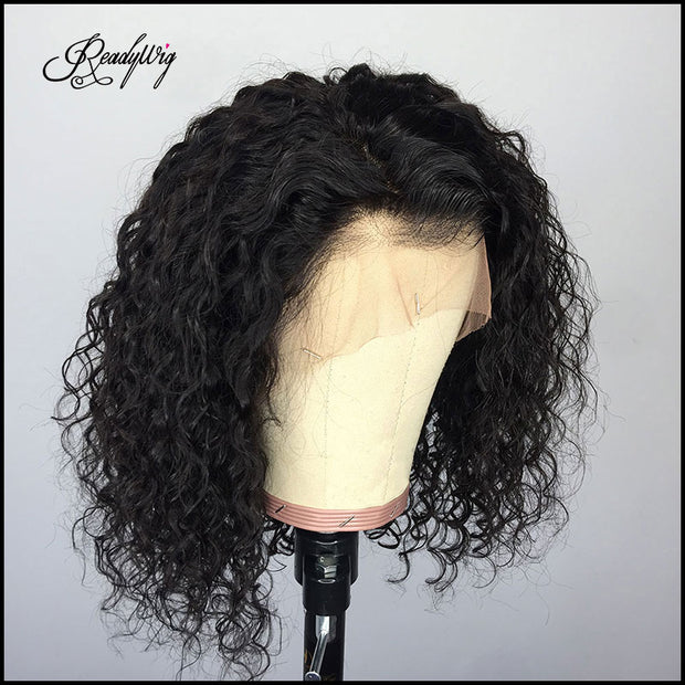 wet and wavy wigs shoulder length short human hair wig 13x4 lace front,13x6 lace front, full lace wig