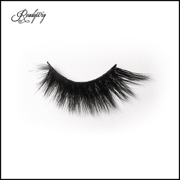 wispy yet lush mink eyelashes for everyday wear