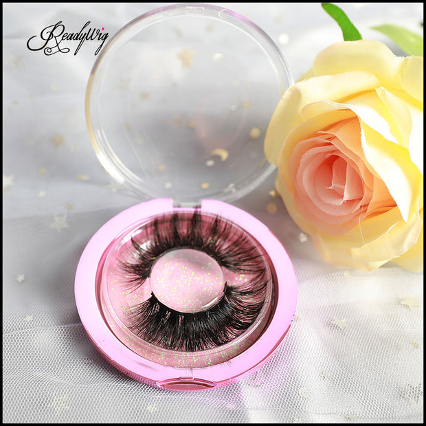 Natural-length 3D Mink Lashes LX-64