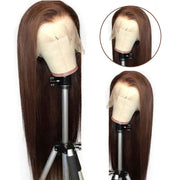 PrePlucked Brazilian Remy Hair Lace Wigs 150% Density