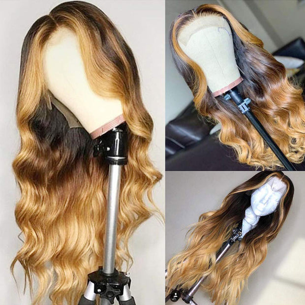 13*6 Brazilian human hair lace wig 180% Density