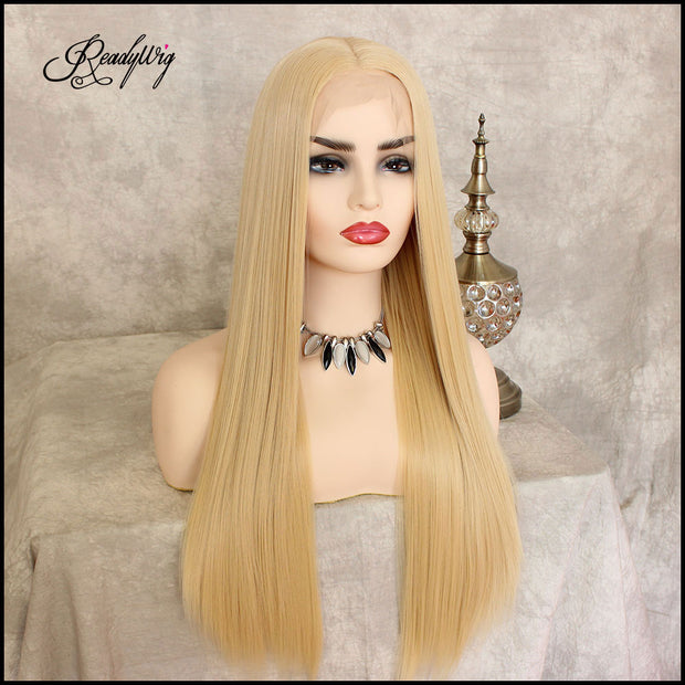 blonde hair wig, blonde hair Synthetic Lace Front Wigs, lace front wig