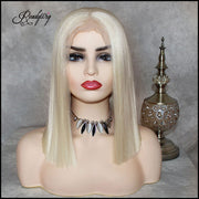 13x6 Lace Front Wigs Synthetic Hair with Baby Hair Pre Plucked Hairline for Women hot bob wig