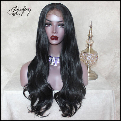 """Big Lace part wigs Heat Resistant wavy hair Natural Looking  Free Parting Hairline Fashion Looking Wigs"""