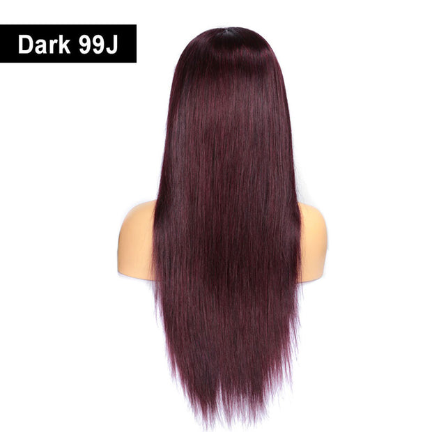 100% human hair wigs with super soft wig cap