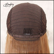 Blonde Premium Synthetic Wigs Heat Resistant Wigs for Black Women  Natural Looking Middle Parting Hairline Fashion Looking Wigs