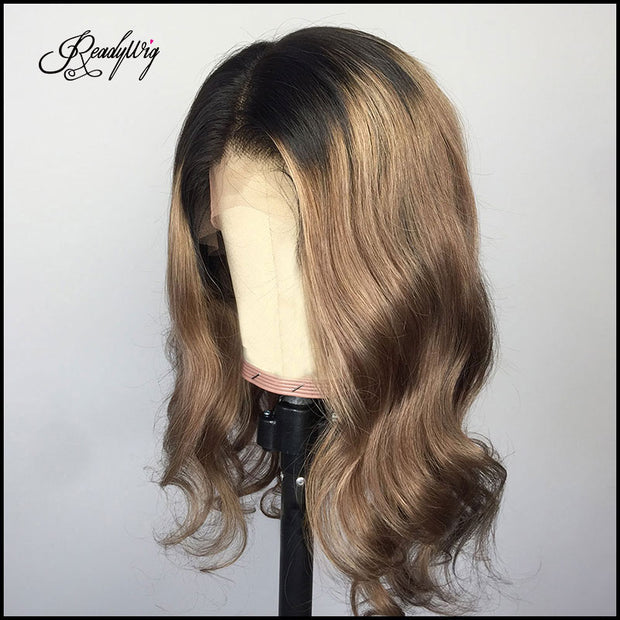 best human hair wigs natural side part with bleached knots 13x4 lace front,13x6 lace front, full lace wig