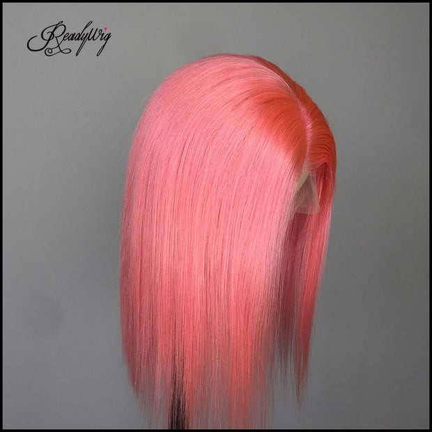 minimum shedding, tangling-free, pre-plucked babyhair,deep part lace straight wig