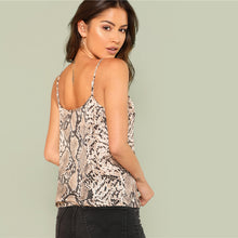 Load image into Gallery viewer, Snake Skin Cami Top