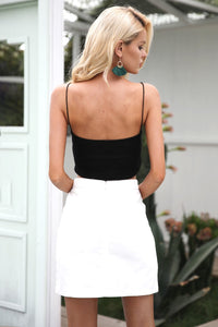Fall Favorite Embroidered Skirt