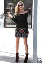 Load image into Gallery viewer, Fall Favorite Embroidered Skirt
