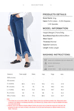 Load image into Gallery viewer, Flare Raw Hem Jean