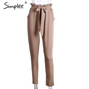 Chiffon Office Pants