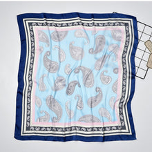 Load image into Gallery viewer, Paisley Silk Scarf
