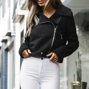 Chic Motorcycle Babe Jacket