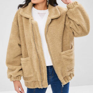 Bomber Teddy Coat