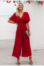 Load image into Gallery viewer, Belted Sash Jumpsuit