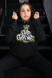 God Got Me Period Hoodie - Black