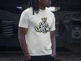 God Got Me Scoop Tee - White