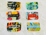 """God Got Me."" Face Masks - 3 Pack"