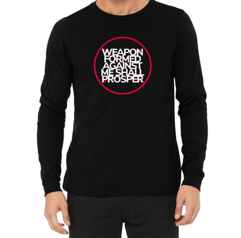 No Weapon Long Sleeve Tee