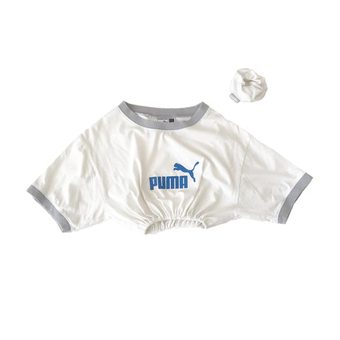 Puma Reworked T-Shirt & matching Scrunchie
