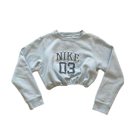 Nike Reworked Cropped Sweater (Girl's)