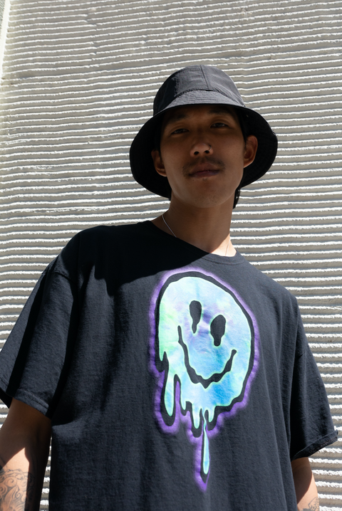 Melting Smiley T-Shirt (Unisex)
