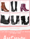 9 of our fave styles of boots this season and how to style them!