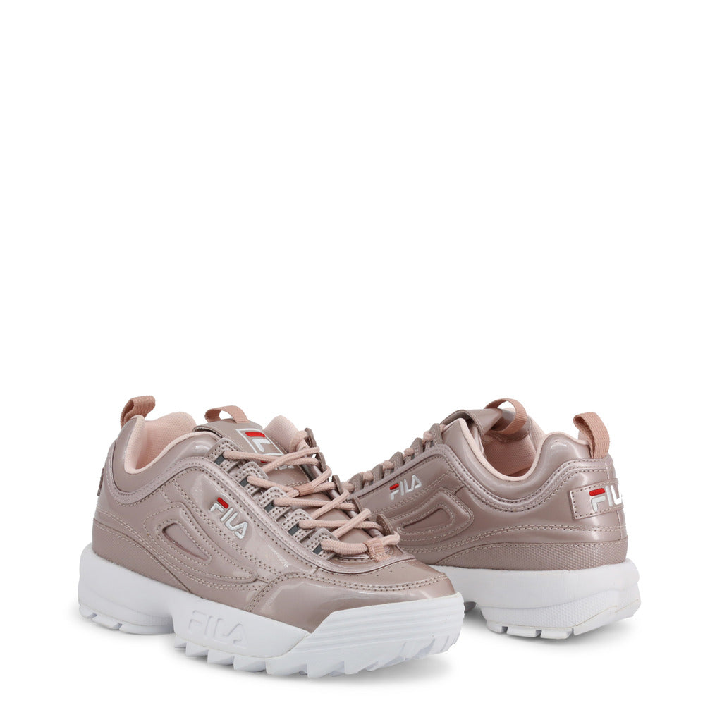 Fila Disruptor Metallic Low Trainers