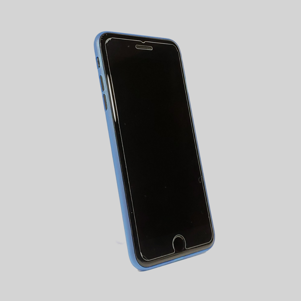 Blue OLO iPhone Case