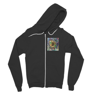 BTC EVERYTHING Classic Adult Zip Hoodie