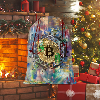 BTC EVERYTHING Sublimation Linen Drawstring Sack