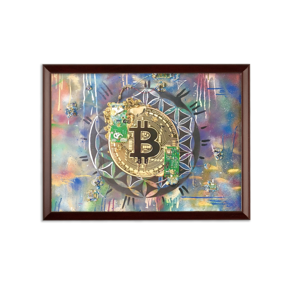 BTC EVERYTHING Sublimation Wall Plaque
