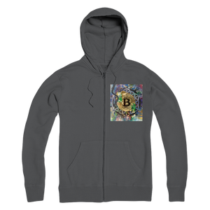 BTC EVERYTHING Premium Adult Zip Hoodie