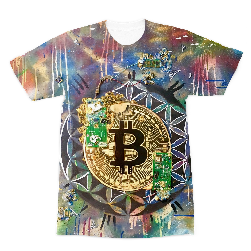 BTC EVERYTHING Premium Sublimation Adult T-Shirt