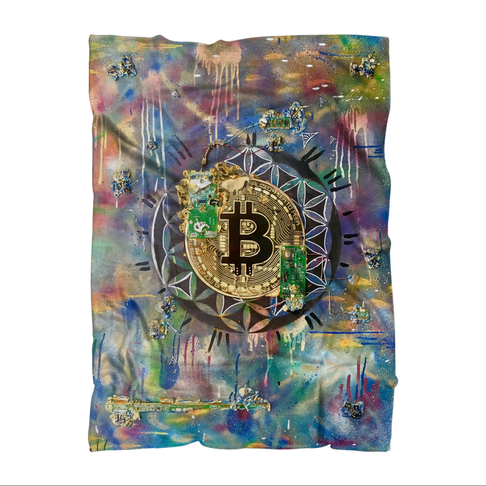 BTC EVERYTHING Premium Sublimation Adult Blanket