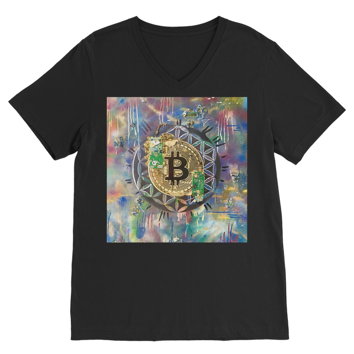 BTC EVERYTHING Classic V-Neck T-Shirt