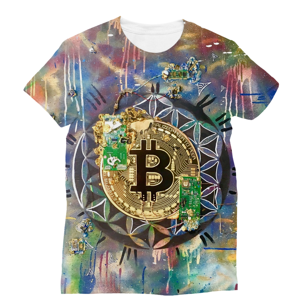 BTC EVERYTHING Classic Sublimation Women's T-Shirt