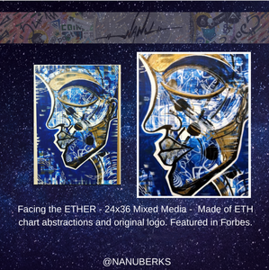 Facing the ETHER — Original Painting