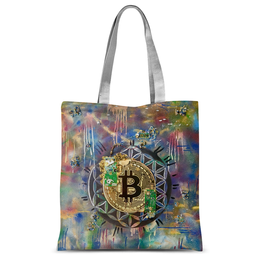 BTC EVERYTHING Classic Sublimation Tote Bag