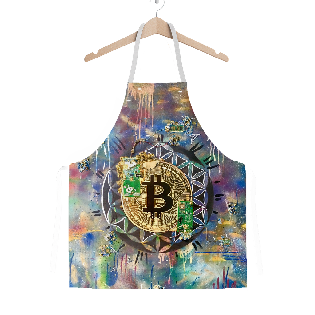 BTC EVERYTHING Classic Sublimation Adult Apron