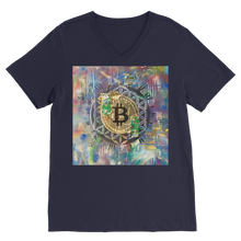 Load image into Gallery viewer, BTC EVERYTHING Classic V-Neck T-Shirt