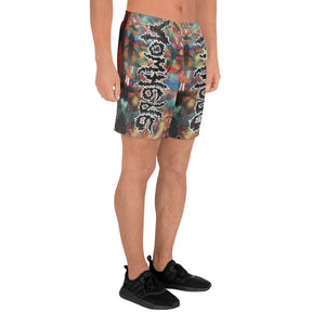 Nowhere Now Here Athletic Long Shorts