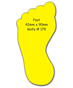 Fridge Magnets Foot 42 x 90 - Clever Fridge Magnets