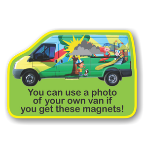 Fridge Magnets Van 57 x 84 - Clever Fridge Magnets