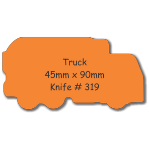 Fridge Magnets Truck 46 x 90 - Clever Fridge Magnets