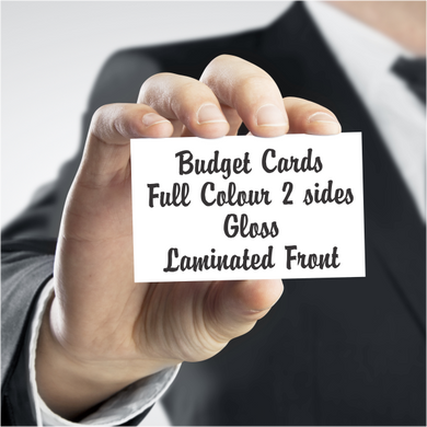 Business Cards Budget Gloss Laminate - Clever Fridge Magnets